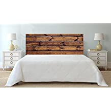 cabecero cama pvc imitacin madera xcm color marrn disponible en varias medidas cabecero