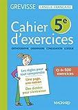 Français 5e Grevisse : Cahier de l'élève