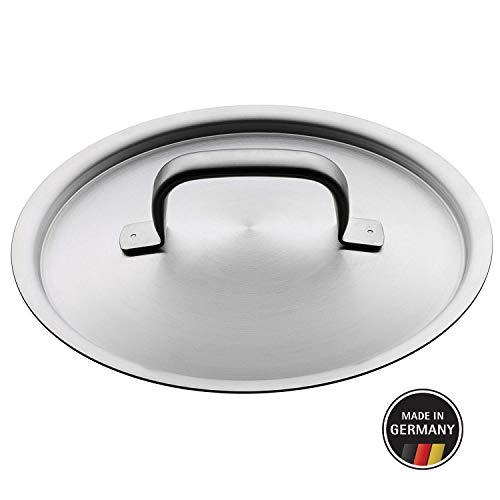 WMF Gourmet Plus Metalldeckel 20 cm, Topfdeckel, Cromargan Edelstahl, spülmaschinengeeignet