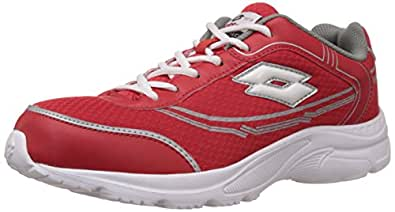 Lotto Men's Tremor Red and White Running Shoes - 6 UK/India (40 EU)