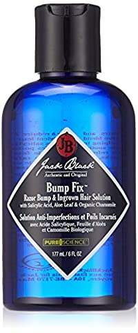 Jack Black Bump Fix Razor und Ingrown Hair Solution, 1er Pack (1 x 177 ml)
