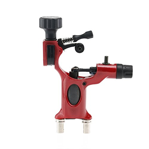 Foxnovo Professionelle Dragonfly Rotary Motor Tattoo Maschinengewehr Liner Shader (rot) (Magnum Liner)