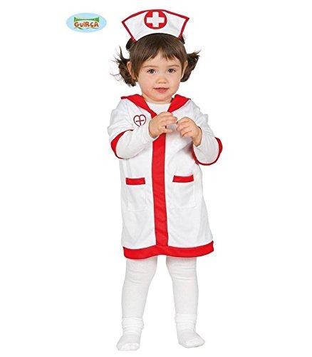 r Kostüm für Mädchen Babykostüm Mädchenkostüm Krankenpflegerin Gr. 74-92, Größe:86/92 (Krank Halloween-outfits)