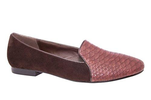 Andres Machado.AM435.Slippers.Grandes Pointures de la 42 à la 45. Pour Femmes. marron.