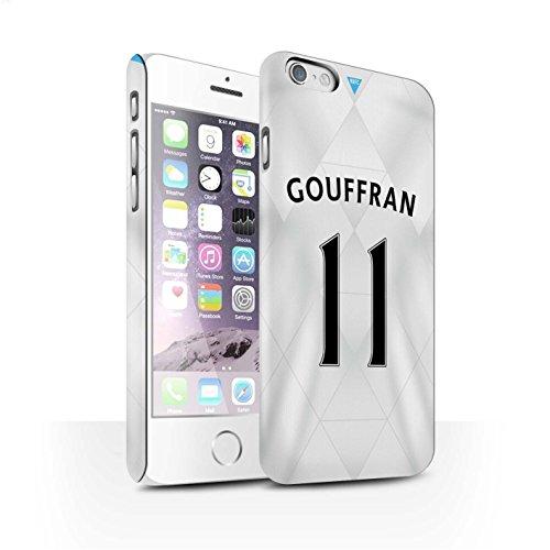 Offiziell Newcastle United FC Hülle / Matte Snap-On Case für Apple iPhone 6 / Pack 29pcs Muster / NUFC Trikot Away 15/16 Kollektion Gouffran