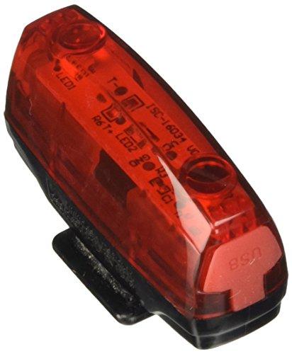 Cateye Rapid Micro G TL-LD620G Rücklicht schwarz-Rot, One Size