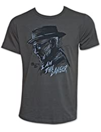Breaking Bad inscription I Am The Danger T-shirt adulte Gris