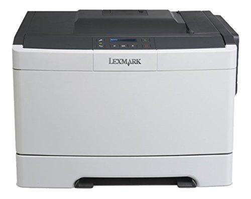 Lexmark CS310DN Farblaserdrucker (1200 dpi, USB 2.0) graphit/weiß