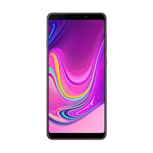 "Samsung Galaxy A9 - Smartphone de 6.3"" (4G, Octa-Core, RAM de 6 GB, Memoria de 128 GB, 4 cámaras de 24+5+10+8 MP, Android) Color Rosa"