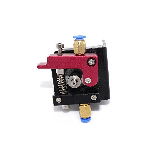 Imprimante 3D – Extrudeuse Filament de 1,75 mm Alimentateur de fil pour Nema 17 – Métal en aluminium – MK8 Makerbot Reprap (main gauche)