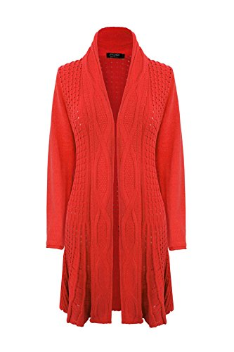 Generation Fashion - Gilet - Cardigan - Femme red