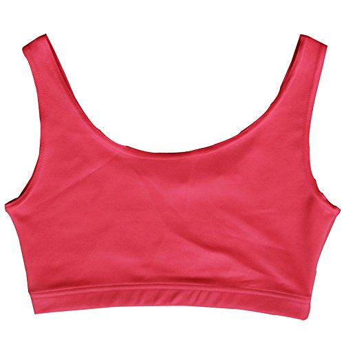 Musclealive Femmes Seamless Sous-vêtements Bra Women Gym Fitness Bra Tops 90% Polyester et 10% Spandex PLN-Pink