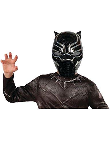 Rubie' s 39218NS Marvel Avengers Black Panther Deluxe maschera accessorio per costume da bambino, ragazzo, taglia unica