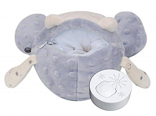 myHummy mascotte qui dort avec capteur de sommeil (gris)
