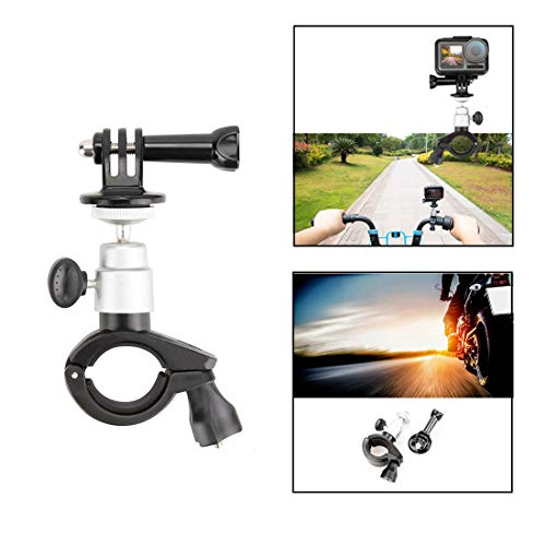 TETAKE Fahrradhalterung Motorrad Halterung für DJI Osmo Action Cam Digitale Actionkamera