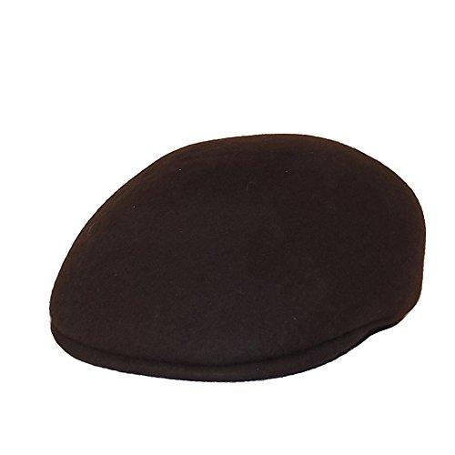 Chapeau-tendance - Casquette 100% Laine Homme Brun - 55 - Homme