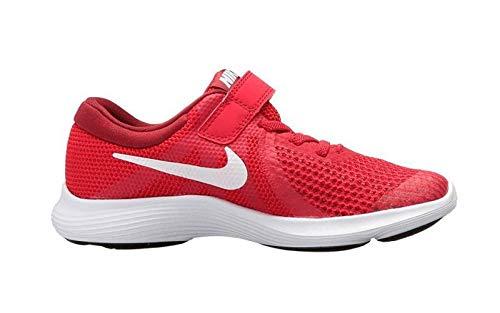 Nike Unisex Baby Kleinkinder Sneaker Revolution 4 Hausschuhe, Rot (Gym Red/White-Team R 601), 17 EU