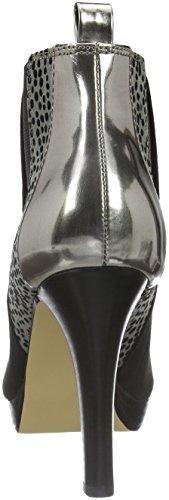 La Strada 909536, Bottes Classiques femme Noir - Schwarz (2201 - micro black)