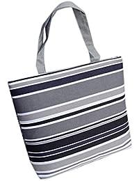 Sac à bandoulière, LHWY Les filles des femmes à la mode impression toile Shopping sacs de sac à main cabas