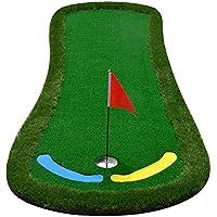 CN Colchonetas de Golf para Interiores Y Exteriores - Práctica de Putting Verde - Fairway de Golf - Juego de Mantas de Práctica - Forma de Pies Grandes,UNA,Un tamaño