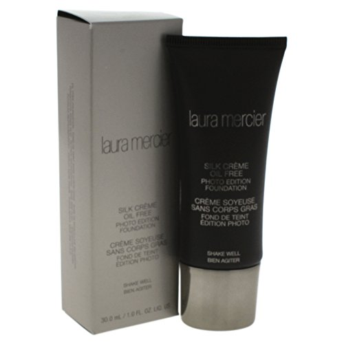 Laura Mercier CLM09307 Silk Crème Oil Free Photo Edition Foundation, 1er Pack (1 x 30 ml) -