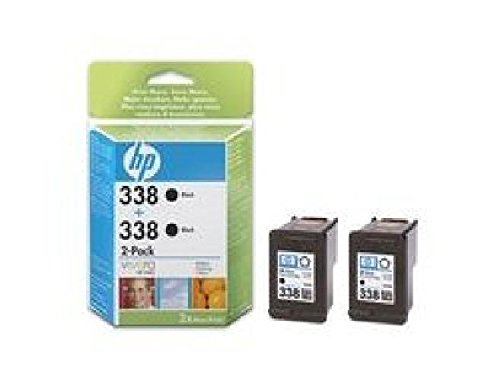Vivera Druckpatrone (CB331EE HP Ink Cartridge 338 Schwarz HP 338 2-Pack. Druckpatrone 2-Pack mit HP Vivera Tinte.)