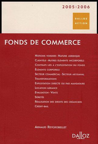 Fonds de commerce par Arnaud Reygrobellet