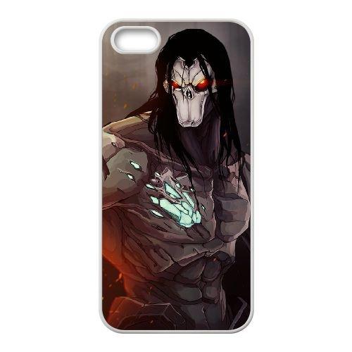 Darksiders coque iPhone 5 5S Housse Blanc téléphone portable couverture de cas coque EBDXJKNBO14953