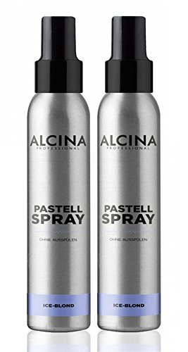 2er Pastell Spray ohne Ausspülen Alcina Professional Ice Blond je 100 ml = 200 ml