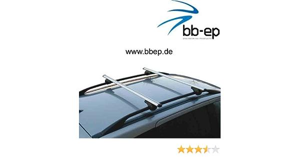 Bb Ep Menabo Einfacher Aluminium Dachträger 90302594 Für Bmw X5 E53 Mit Normaler Hochstehender Dachreling Für U Bügel Montage Oder T Nut Montage Mit 14 Mm Breite Auto