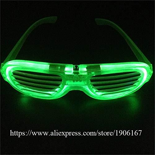 HITSAN INCORPORATION Newest Led Luminous Halloween Glasses Light Up LED Glasses Flashing Party Gift Event Supplies DJ Club Stage Dance Eyewear