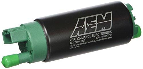 AEM 50-1200 E85 High Flow In-Tank Fuel Pump, Grün -