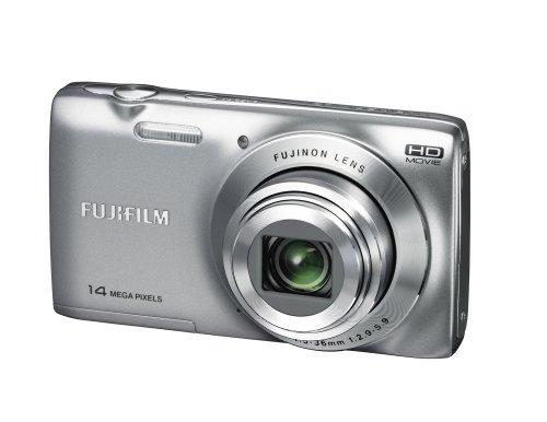 Fujifilm FinePix JZ100 Digitalkamera (14 Megapixel, 8-fach opt. Zoom, 6,9 cm (2,7 Zoll) Display, bildstabilisiert) silber