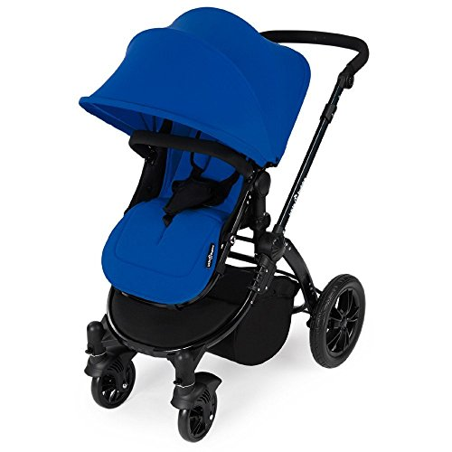Ickle Bubba Stomp 2-in-1 Travel System Set (Blue on Black Chassis) 41TN8DinsKL