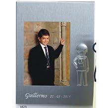 Portafotos PERSONALIZADOS para comunión de niño marcos GRABADOS (pack ...