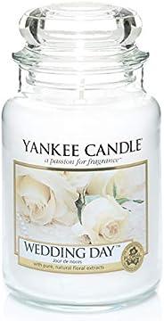 YANKEE CANDLE jar large Wedding Day YSDWD