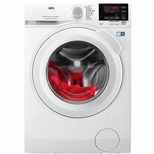 L6FBG741R Freestanding Washing Machine with 7kg load capacity in White