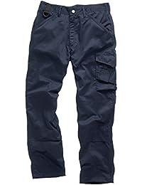 Scruffs Pantalon de travail pour homme XL bleu marine