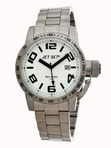 Jet Set–J27573–112–Montre de Poignet pour homme, bracelet en acier