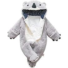 e119ded777 per Rompers Bebés Recién Nacidos Pijamas Bebés de Una Pieza Saco de Dormir  Infantil Mamelucos Invierno