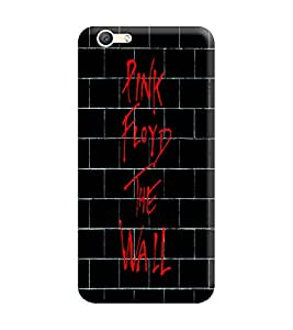 Gismo Vivo Y55s Cover / Vivo Y55s Back Cover / vivo y55s Designer Printed Back Case - Black Wall quote Pink Floyd the wall