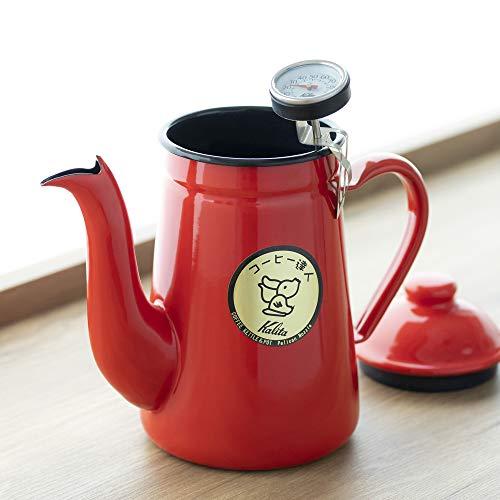 "Kalita Kaffeekanne ""Master Pelican Red"" (1 Liter)"