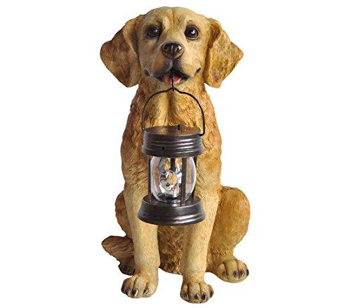 ar-Hund, ca. 47 x 37 x 26.5 cm, Kunststoff, braun (Kunststoff-figuren Hund)