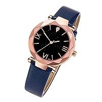 amazingfr Ladies Watches Leather Mesh Strap Waterproof Watches Quartz Watch For Woman Girls Teenager Elegant Business Dress Analogue Wrist Watch