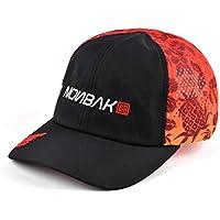 Nonbak Gorra Ultralight Kona Transpirable y Plegable. Cap Unisex. Running, Deportes Outdoor Aire Libre (Tonos Rojos (Limited Edition))