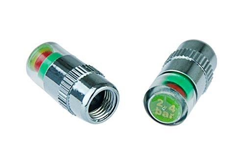 Reifenwächter Reifendruckventil Reifendrucksensor 2,4 bar für eine visuelle Druckluftüberwachung in Ihren Autoreifen von Kobert - Goods
