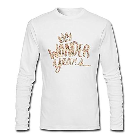 UKCBD - T-shirt - Homme - Blanc - Large