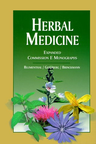 Herbal Medicine: Expanded Commission E Monographs