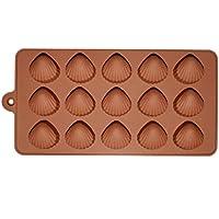 Moule en silicone pour 15coquillages