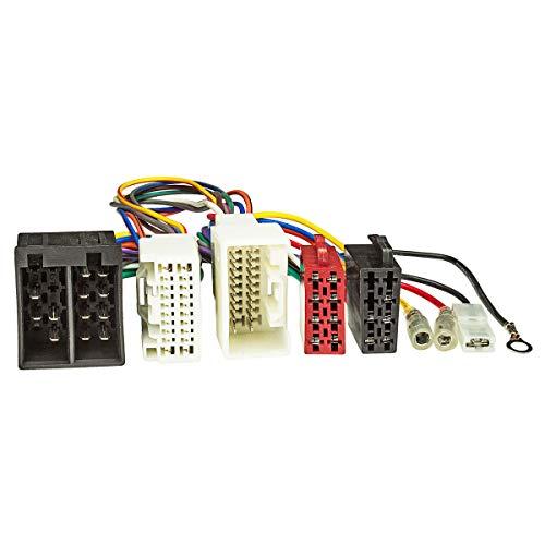 tomzz Audio 7337-001 T-Kabel ISO für Mitsubishi Pajero Outlander ASX ab 2007 zur Einspeisung von Freisprecheinrichtung ISO Verstärker für THB Parrot Dabendorf i-sotec Match